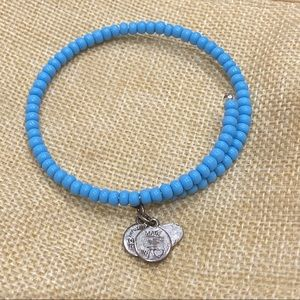 Alex and Ani Beaded Wrap Bracelet